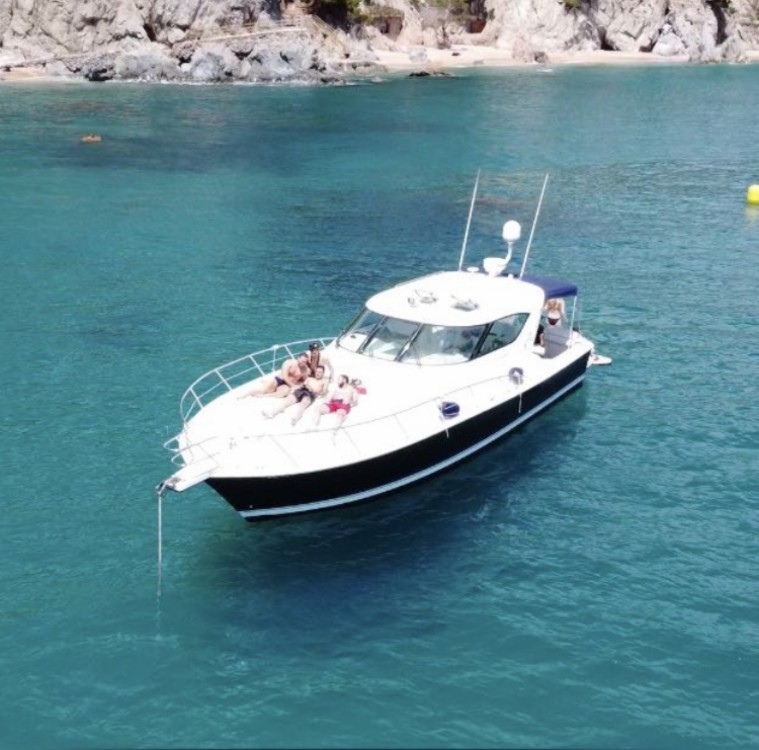Boat rental Palamós cheap 4000 offshore