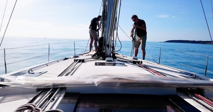 Rental yacht Saint-Tropez - Bénéteau Oceanis 48 on SamBoat