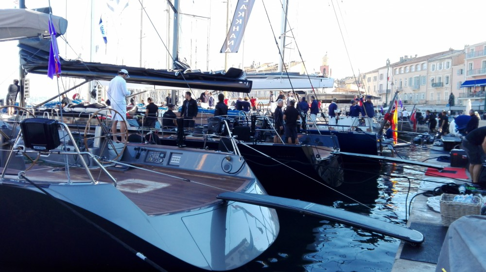Boat rental Saint-Tropez cheap Oceanis 48
