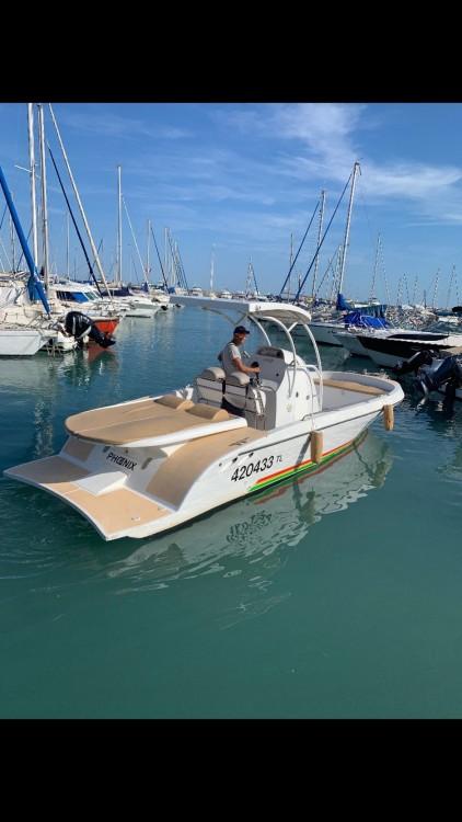 Boat rental Open pro 26 in Cannes on Samboat