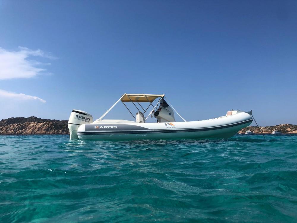 Hire RIB with or without skipper Kardis Porto Rotondo