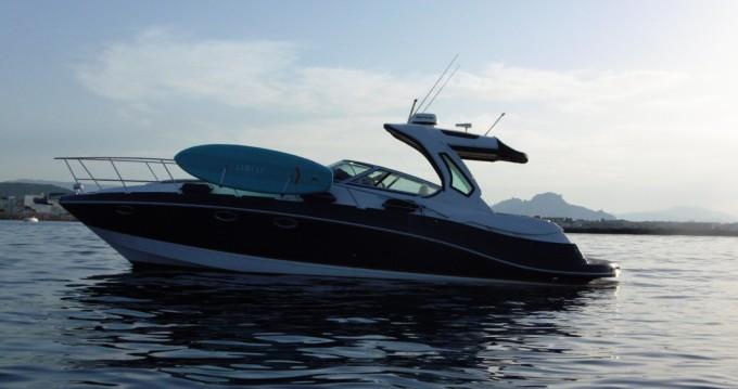 Boat rental Dénia cheap Vista 375