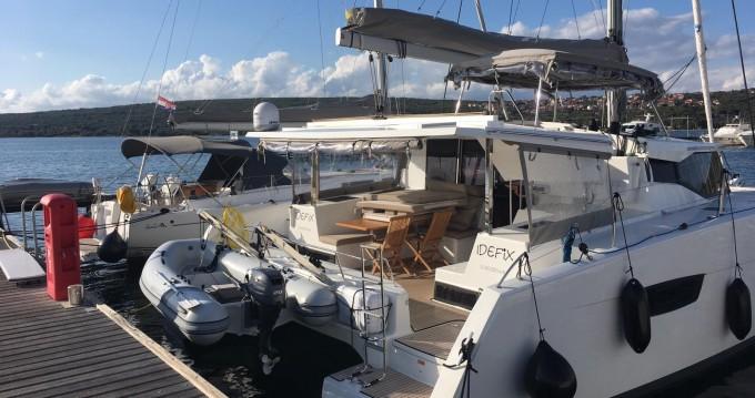 Rental Catamaran in  - Fountaine Pajot Fountaine Pajot Lucia 40 - 3 cab.