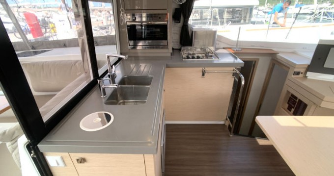 Boat rental  cheap Fountaine Pajot Lucia 40 - 3 cab.