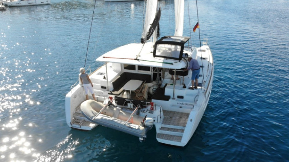 Boat rental Rogoznica cheap Lagoon 40 (4 cab)