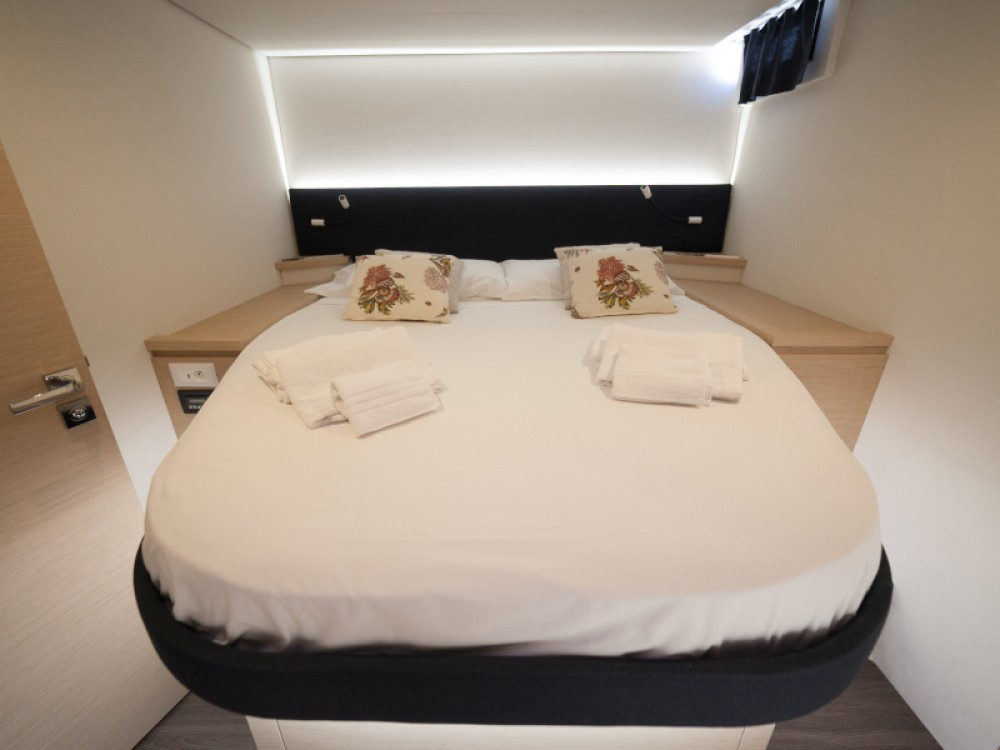 Fountaine Pajot Saba 50 between personal and professional Capo d'Orlando