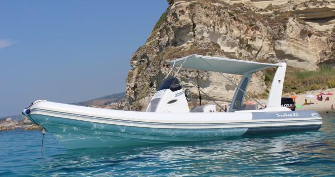 Boat rental Nautica Service D'Aleo Sun Sea 25 in Tropea on Samboat
