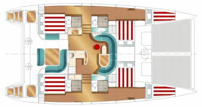 Rental yacht US Virgin Islands - Nautitech Nautitech 47 on SamBoat