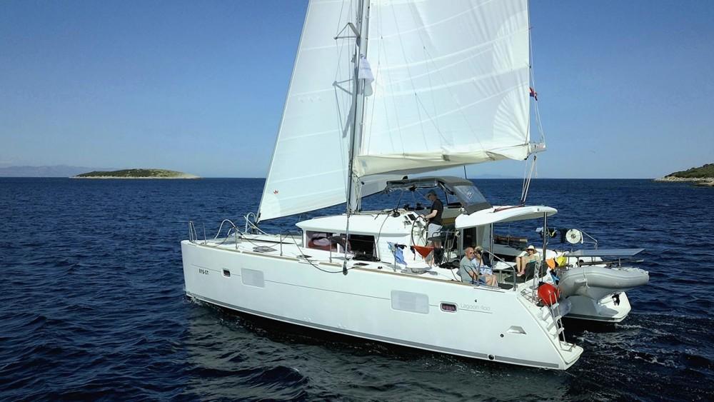 Rental yacht Trogir - Lagoon Lagoon 400 - 4 + 2 cab. on SamBoat