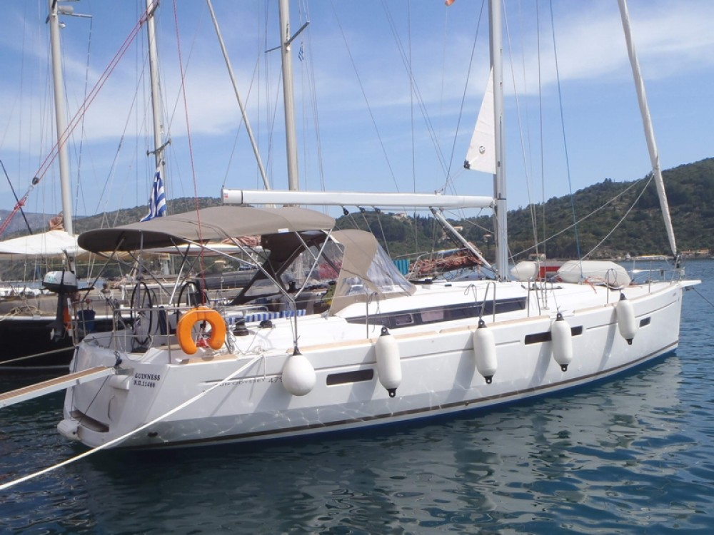 Jeanneau Sun Odyssey 479 between personal and professional Skiathos