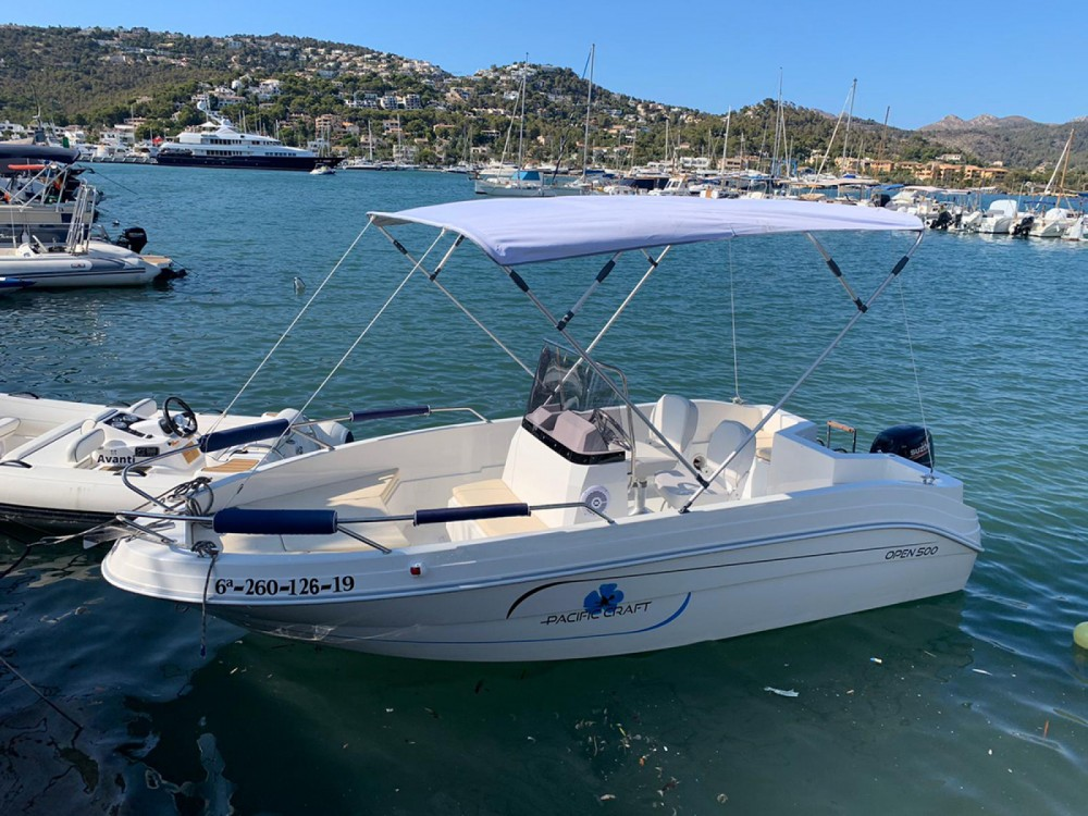 Rental Motorboat in  - Pacific Craft Pacific Craft 500 Open