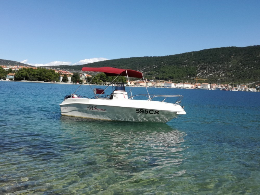 Boat rental Cres cheap 19 open