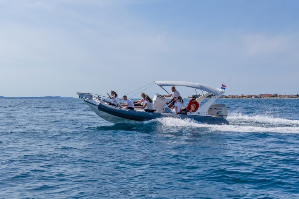 Hire RIB with or without skipper Arimar Grad Zadar