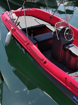 Boat rental Fun Yak Fun Yak 550 in Beaulieu-sur-Mer on Samboat