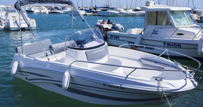 Boat rental Benalmádena cheap 500 Open
