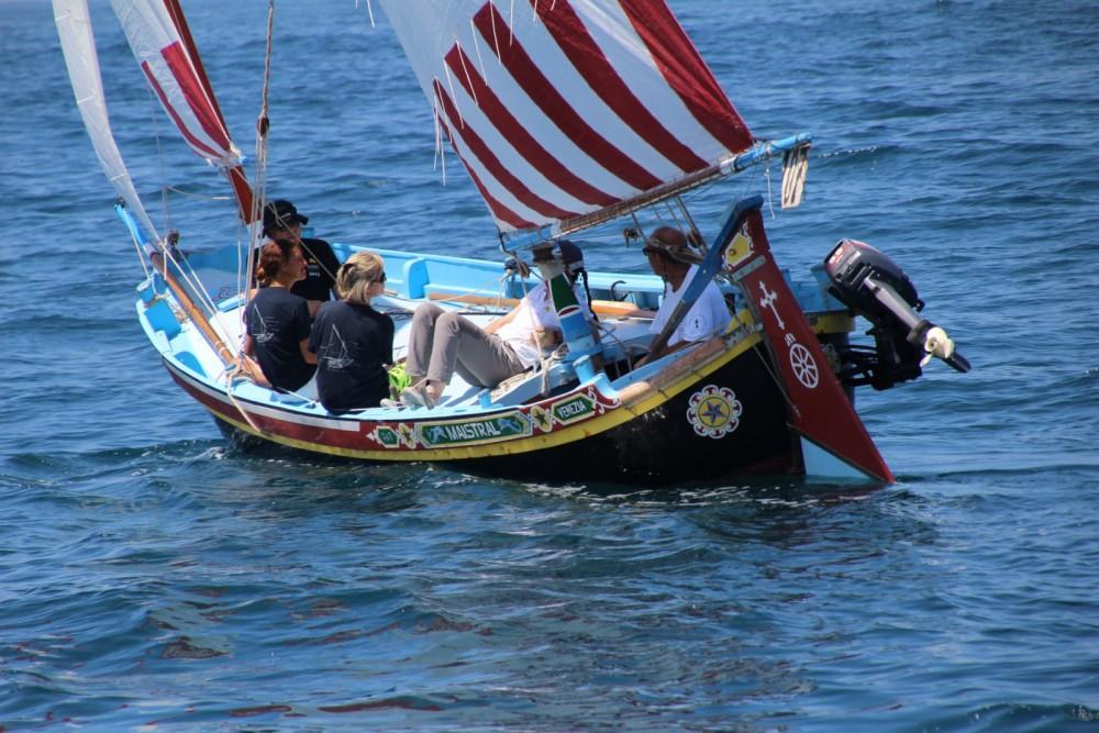 Hire Sailboat with or without skipper Topo chioggiotto Venice