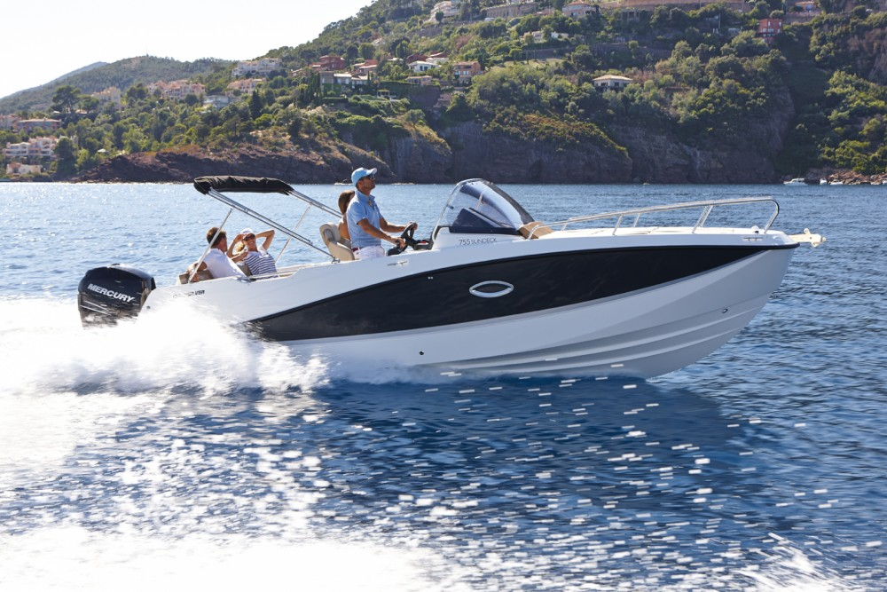 Quicksilver 775 ACTIVE CRUISER between personal and professional Castell-Platja d'Aro