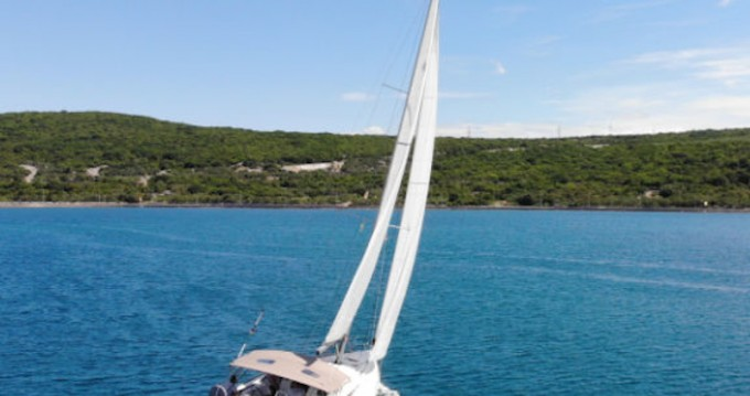 Jeanneau Sun Odyssey 419 between personal and professional Krk