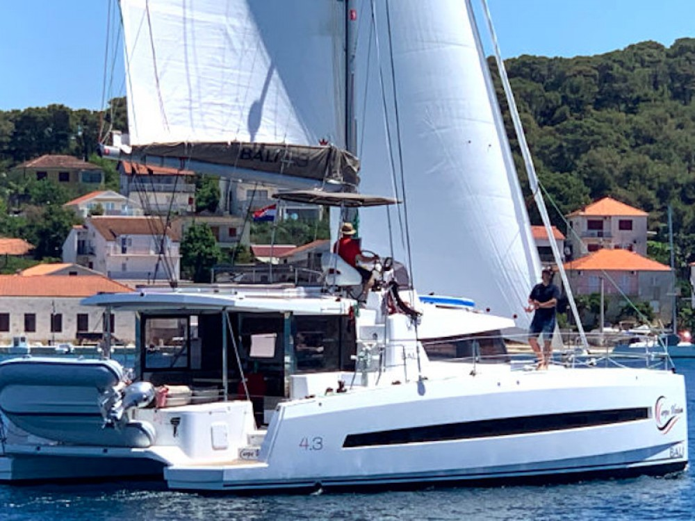 Catamaran for rent Rogoznica at the best price