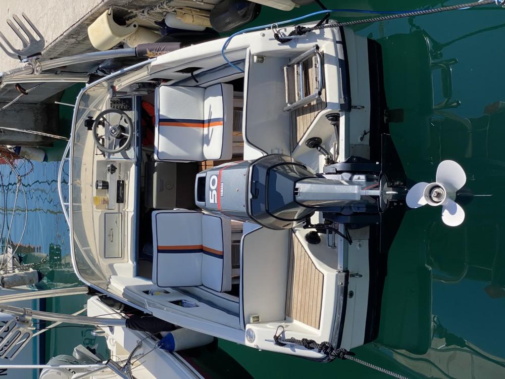 Boat rental Menton cheap Rio 450