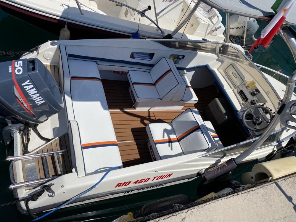 Rental Motorboat in Menton - Rio Rio 450