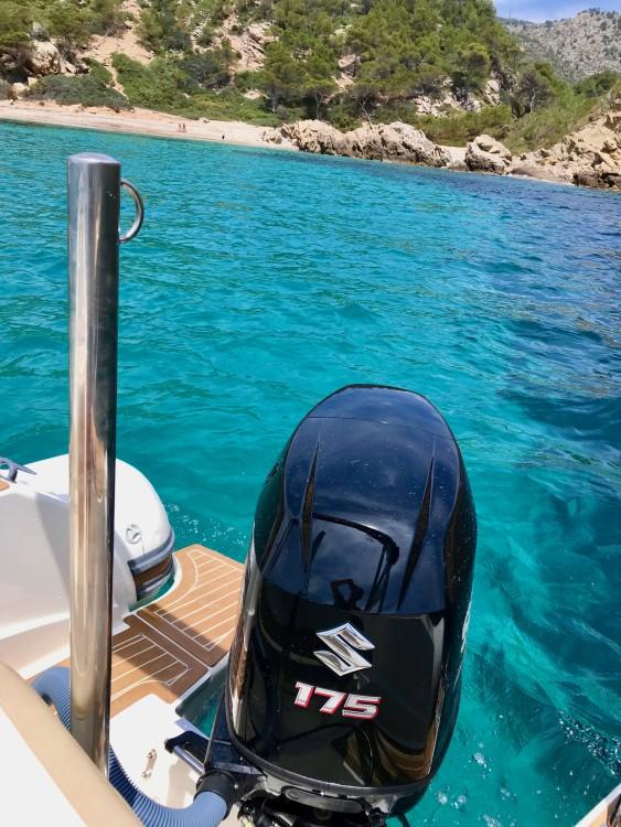 Rental RIB in Port d'Andratx - Capelli Tempest 700