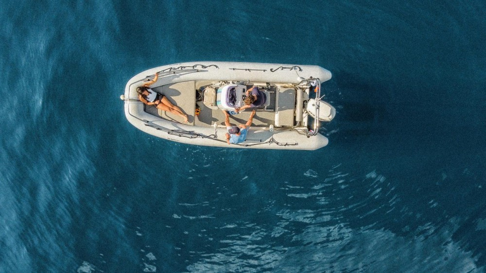 Rental RIB Mako inflatables  with a permit
