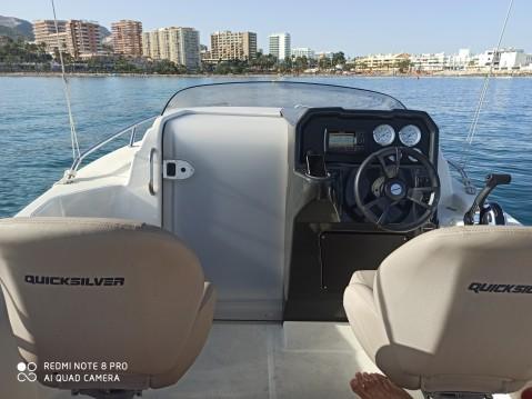 Rental yacht Benalmádena - Quicksilver Activ 505 Cabin on SamBoat