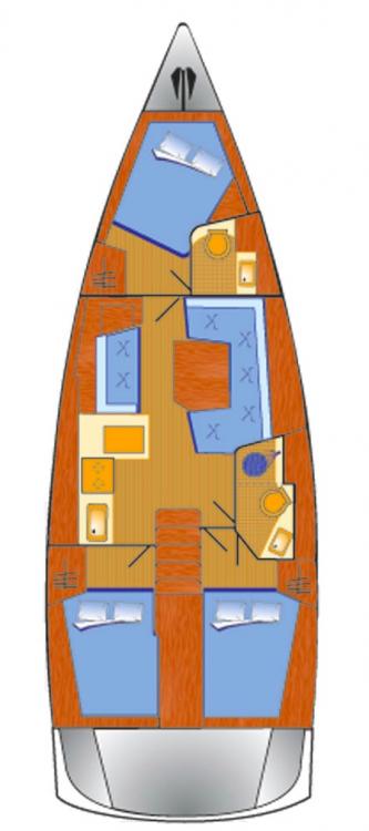 Boat rental Bénéteau Oceanis 411 in Grad Pula on Samboat
