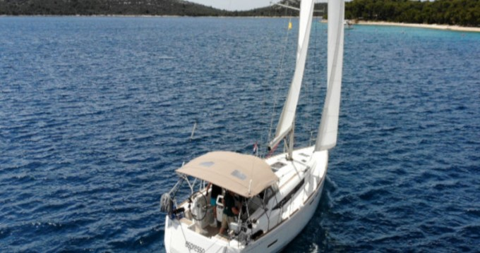 Jeanneau Sun Odyssey 419 between personal and professional Rogoznica