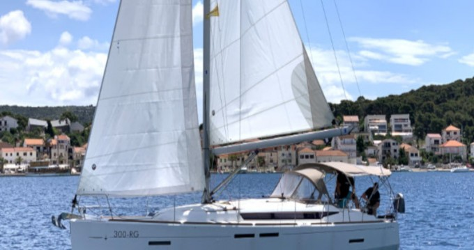 Boat rental Rogoznica cheap Sun Odyssey 419