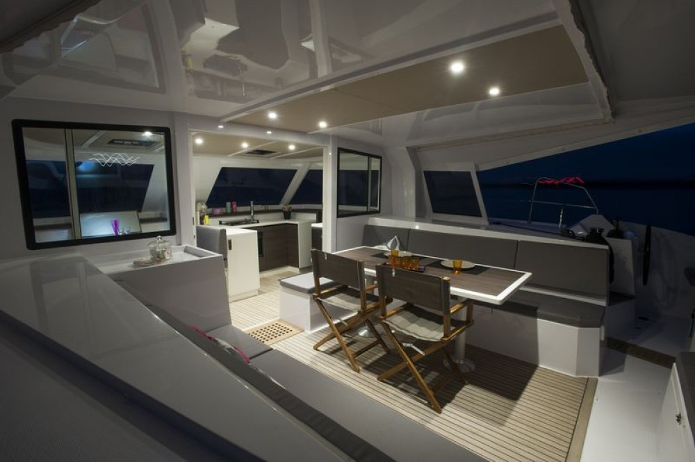Hire Catamaran with or without skipper Nautitech Jolly Harbour