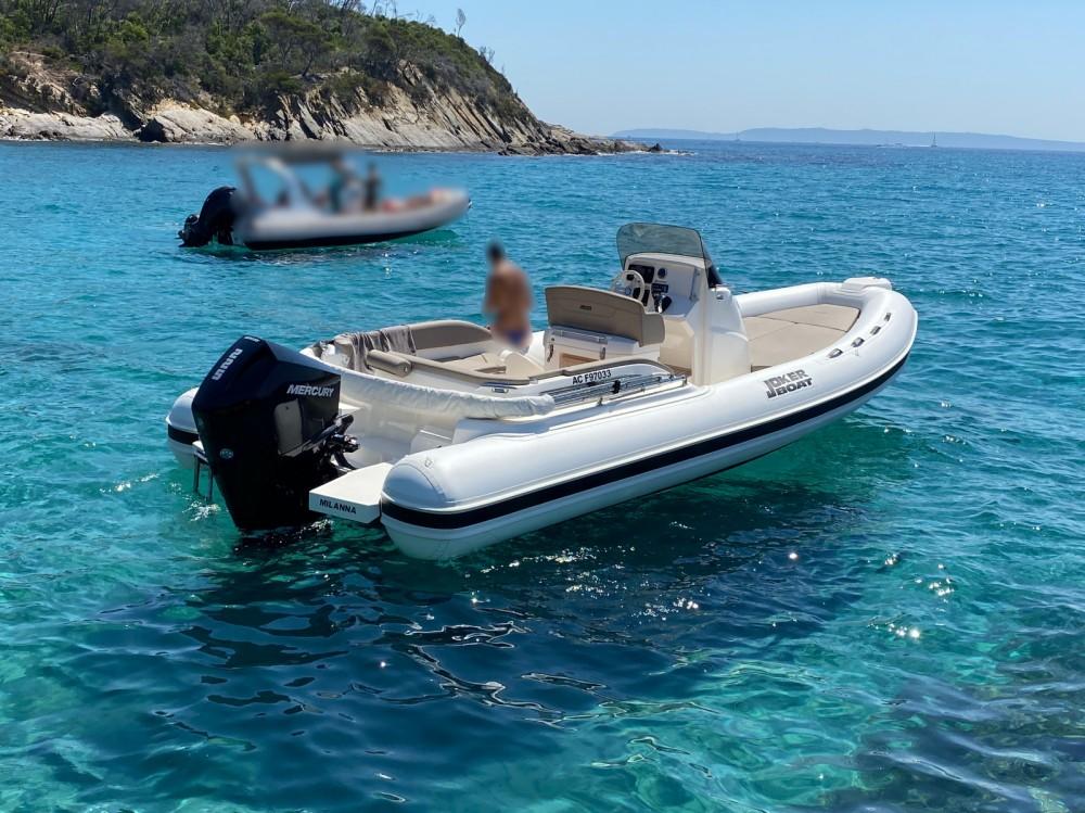 Joker Boat Clubman 24 between personal and professional Le Lavandou