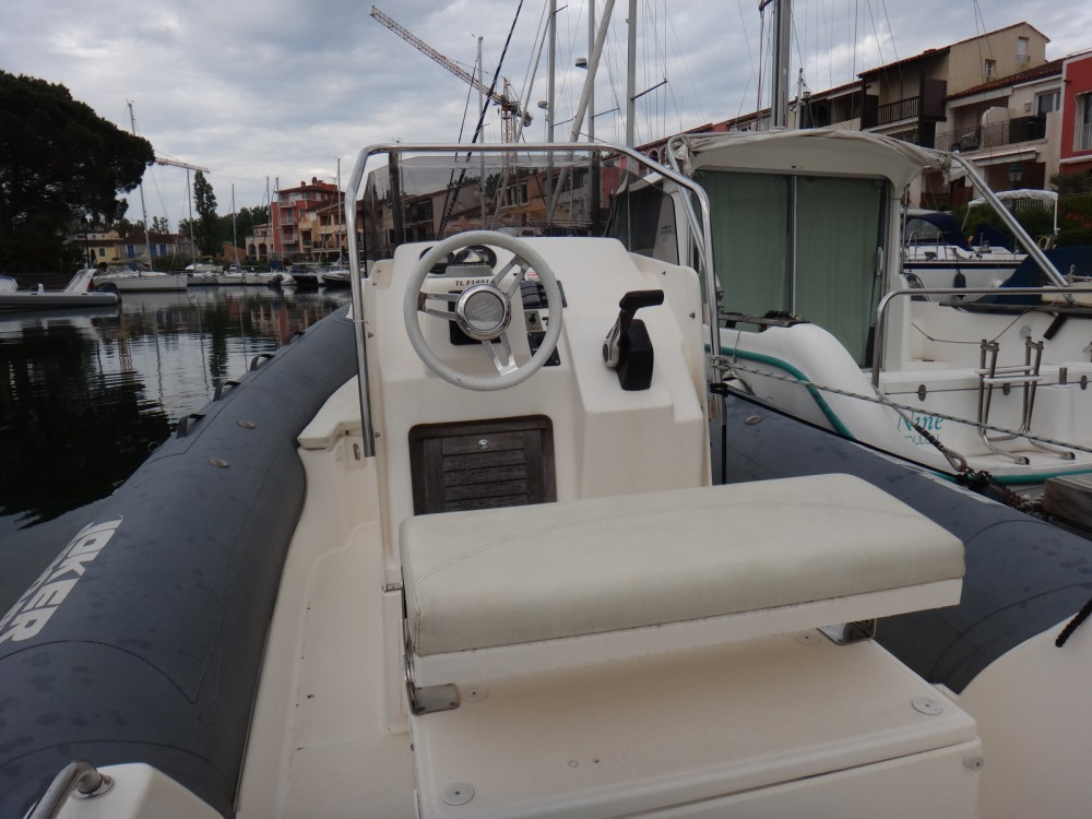 Hire RIB with or without skipper Joker Boat Grimaud