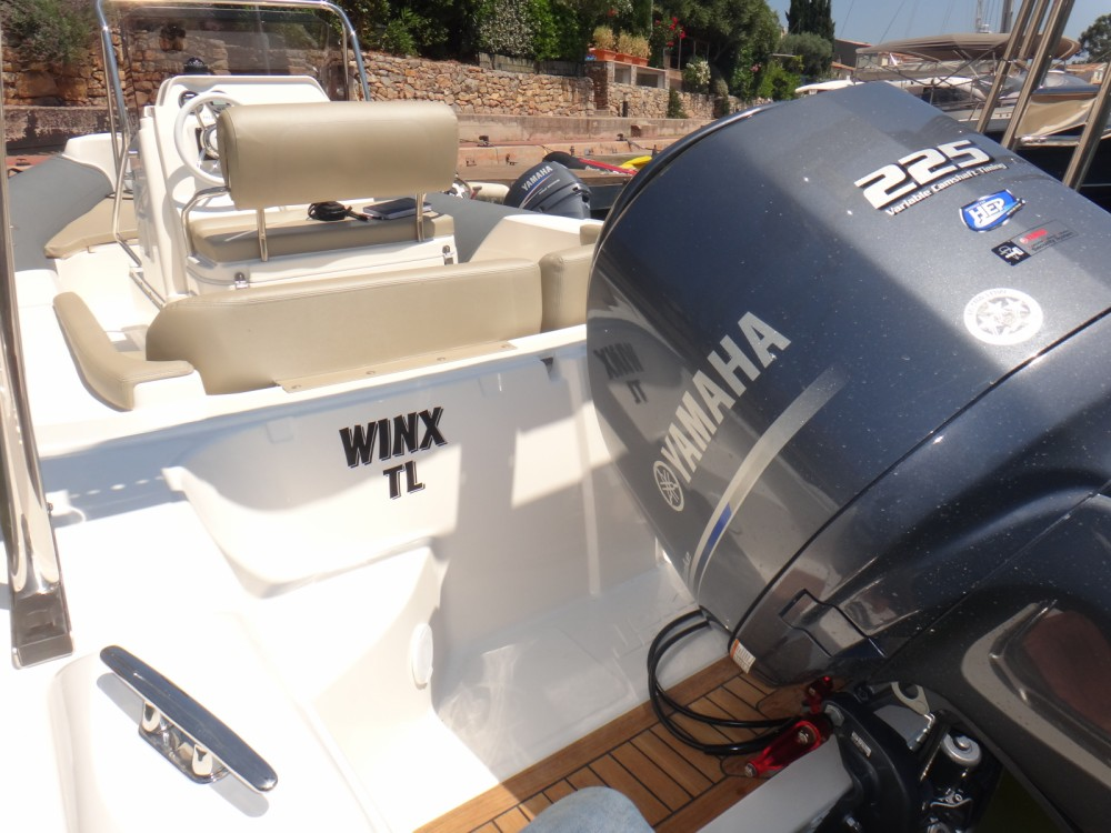 Boat rental Grimaud cheap Clubman 24