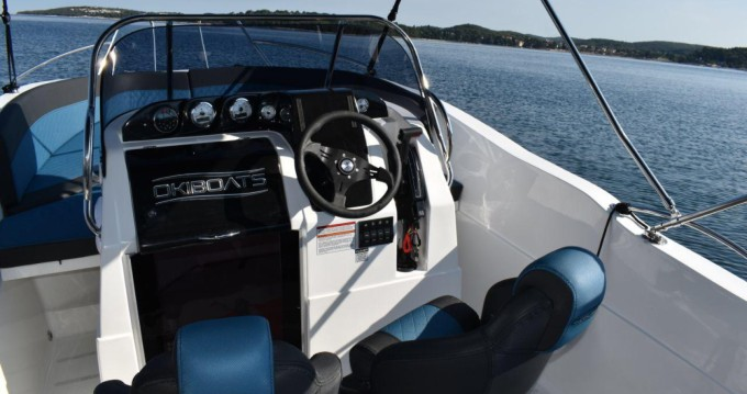 Boat rental Rovinj cheap Barracuda 545 Open
