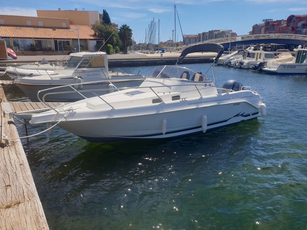 Rental Motorboat in Gruissan - B2 Marine Cap Ferret 752 Cruiser