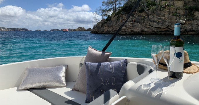 Motorboat for rent Puerto Deportivo Marina Del Este at the best price