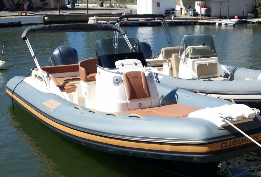 Rental yacht Grimaud - Joker Boat Clubman 24 on SamBoat