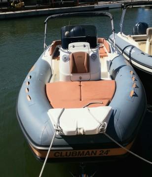 Rental yacht Port Grimaud - Joker Boat Clubman 24 on SamBoat