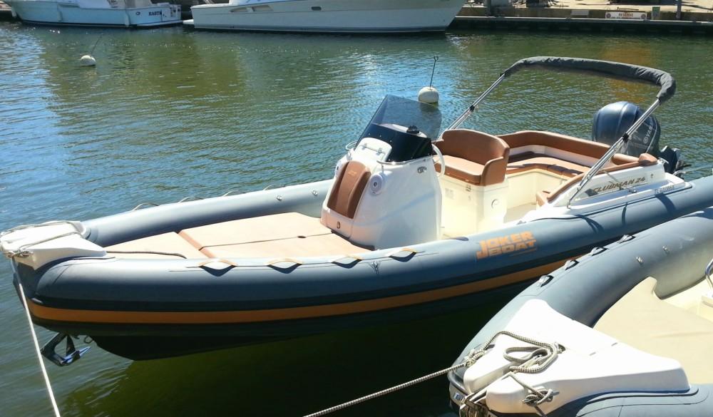 Joker Boat Clubman 24 between personal and professional Grimaud