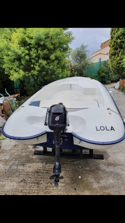 Rental Motorboat hydro sport with a permit