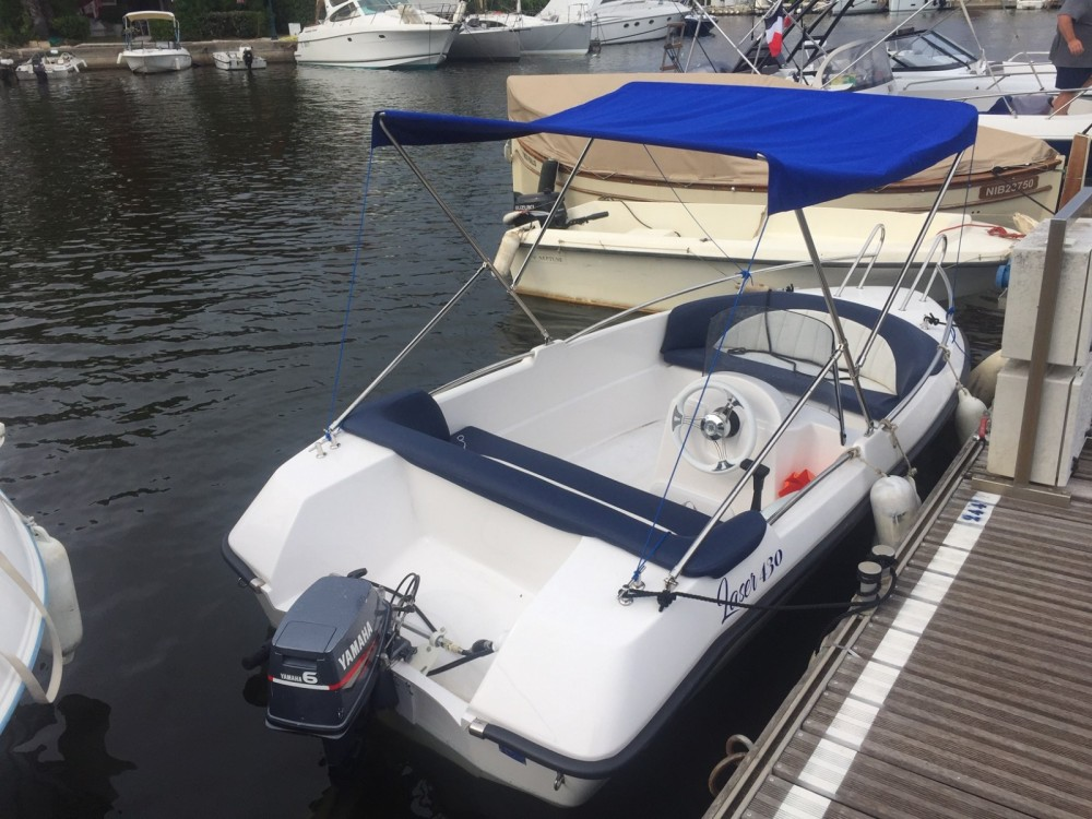 Boat rental Grimaud cheap laser