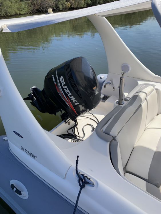 Hire RIB with or without skipper Zodiac Saint-Florent