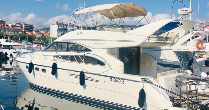 Boat rental Cannes cheap Princess 50 Fly