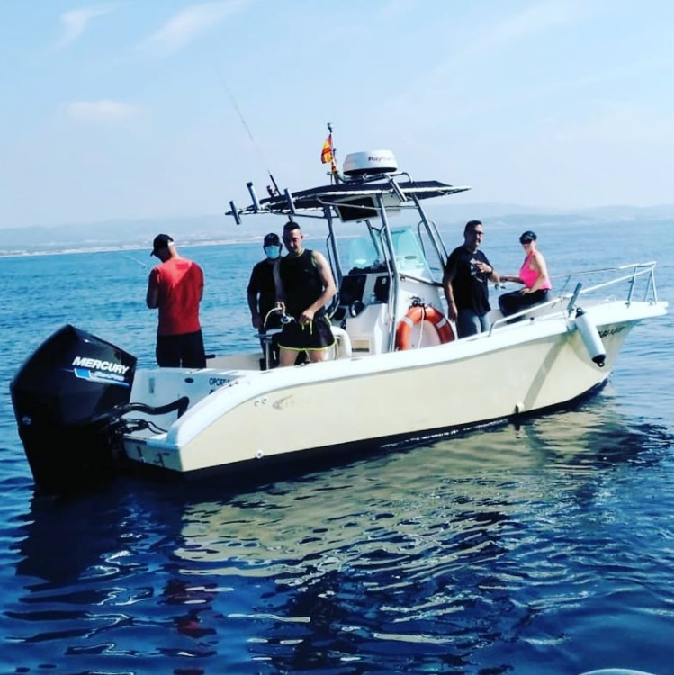 Hire Motorboat with or without skipper Fishing