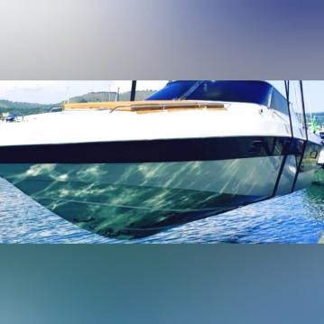 Boat rental Capri cheap Lupo di mare 35