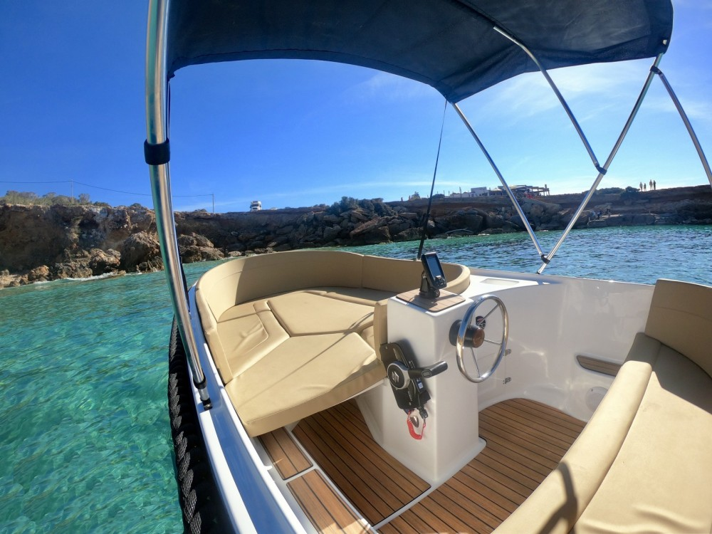 Hire Motorboat with or without skipper sea more  Balearic Islands