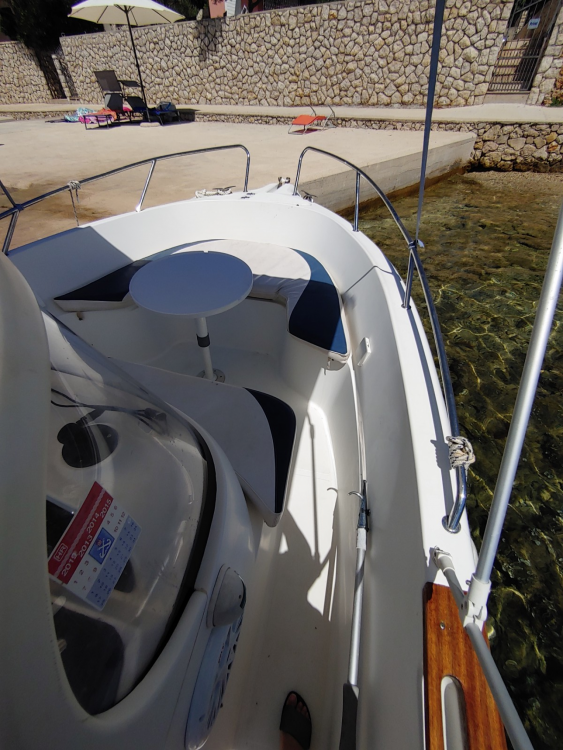 Boat rental Stara Novalja cheap Quicksilver 630 Commander