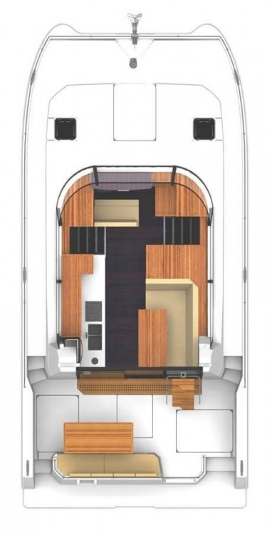 Rental Catamaran in Šibenik - Fountaine Pajot Fountaine Pajot MY 37